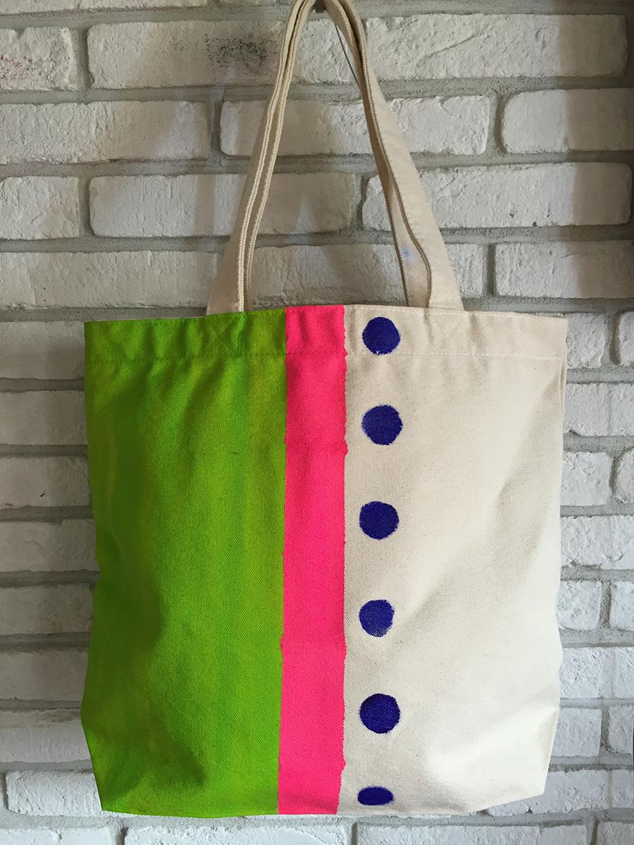 miu Bag green&pink
